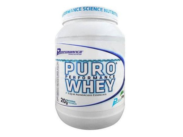 Puro Whey 909g Performance Nutrition - Caramelo