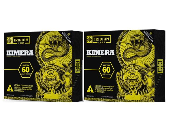 Kit 2x Kimera Thermo - Termogênico Kimera - 60 Caps - Iridium Labs
