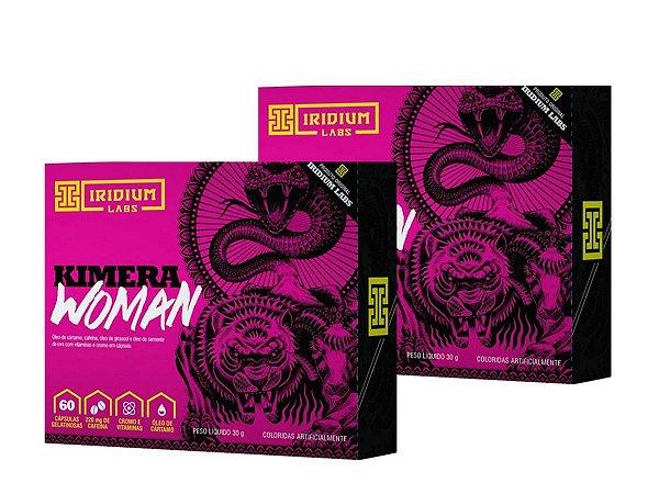 Kit 2x Kimera Woman Thermo - Termogênico Kimera Woman - 60 Caps - Iridium Labs