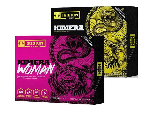 Kit Kimera 60 Caps + Kimera Woman 60 Caps - Iridium Labs