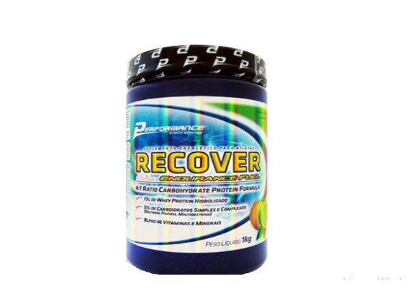 Recover Endurance Fuel 1kg - Performance Tangerina