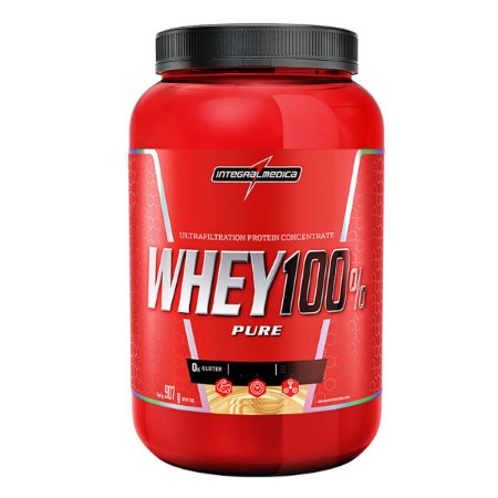 Whey 100% Pure 907g - Integral Médica Cappuccino