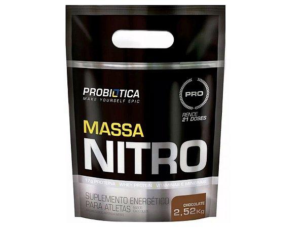 Massa Nitro 2520g Chocolate - Probiótica
