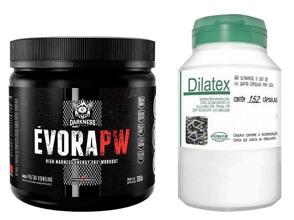 Évora 300G Cotton Candy Integral Médica + Dilatex 152 cáps