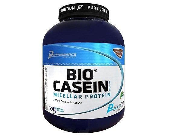 Bio Casein 2kg - Performance Baunilha