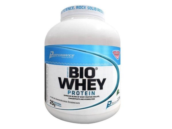 Bio Whey 2kg - Performance Baunilha