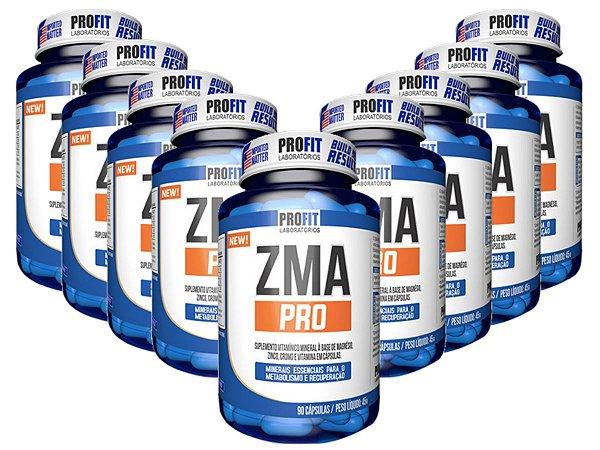 10X Zma Pro Com Picolinato De Cromo 90 Cápsulas - Profit Labs