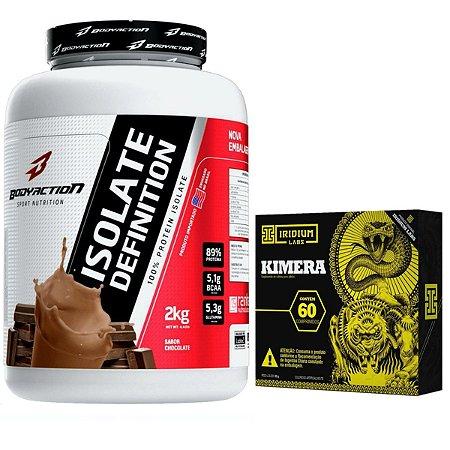 Isolate Definition 2kg Chocolate Body + Kimera 60 Tabletes