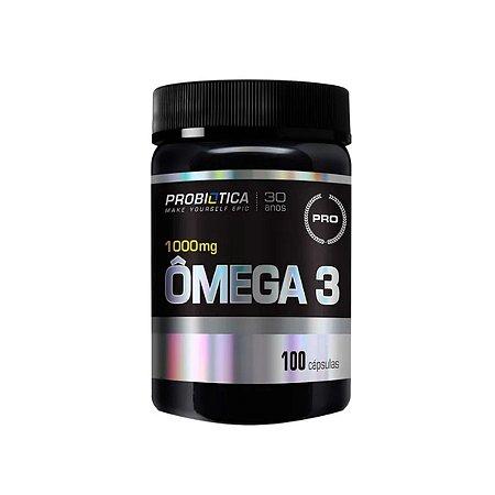 Omega 3 - 1000 Mg - 100 Capsulas - Probiotica