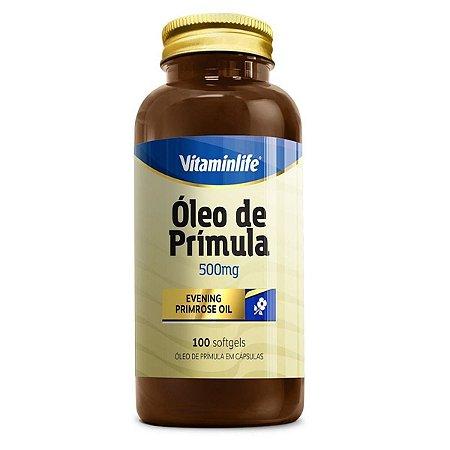 Óleo De Prímula 500mg 100 Softgels - Vitaminlife