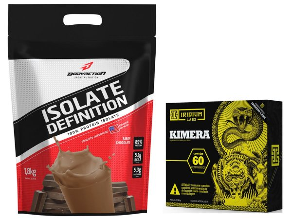 Whey Isolate Definition (1.8kg) Chocolate + kimera 60 Caps