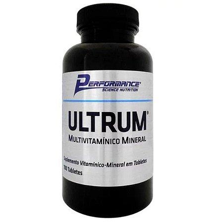 Multivitaminico Ultrum 100 Tabletes - Performance