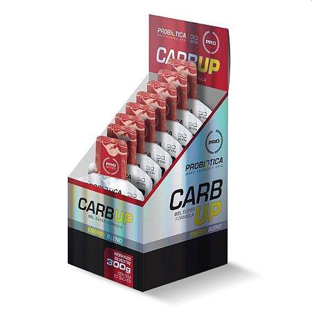 Carb Up Gel Cx C/10x Un 30g Probiótica Morango Silvestre