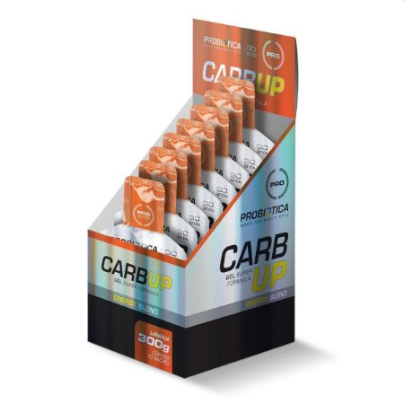 Carb Up Gel Cx C/10x Un 30g Probiótica Laranja