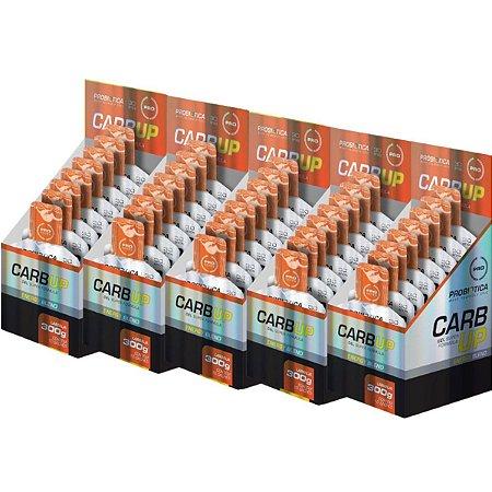 5x Carb Up Gel Cx C/10x Un 30g Super Formula Probiótica Laranja