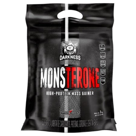 Hipercalórico Monsterone 3kg Darkness - Morango