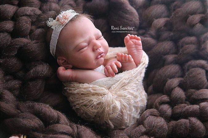 Manta lã Tricot gigante Newborn