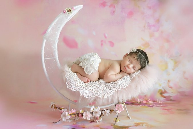 Lua Fotografia newborn Acessórios Props ArteBrasil