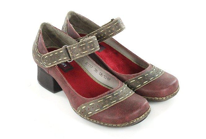 Sapato New Kelly CK0037-01 Vermelho