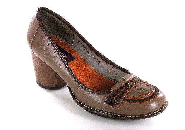 Sapato Lolla Argila