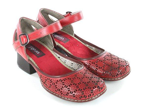Sapato New Kelly Urucum
