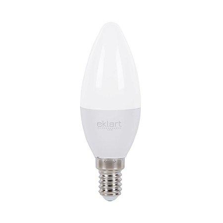 Lâmpada LED Vela Leitosa Dimerizável  5W Bocal E14