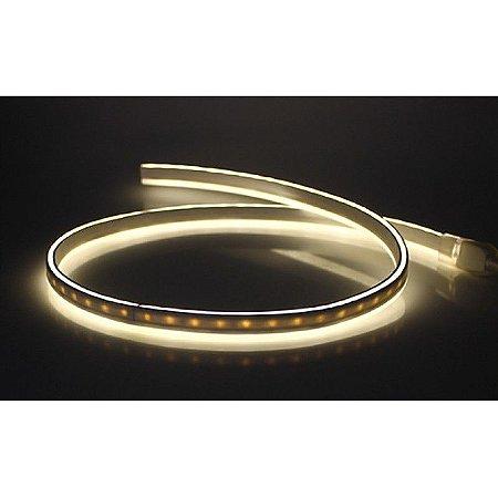 Fita de LED Neon Dimerizável 8W/M 127V IP66 50 metros SMD 2835 2700K Plug and Play - Eklart