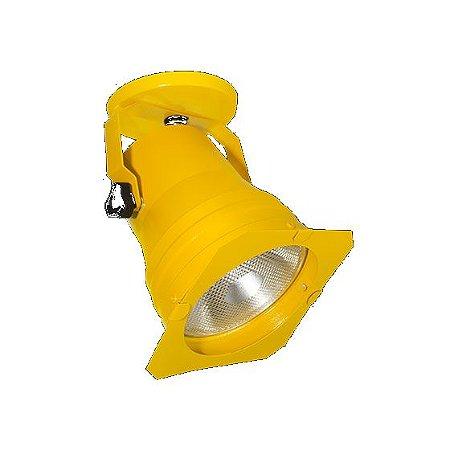 Spot Refletor Cênico Sobrepor Com Facho Orientável Par30/ Par38  Sem Lampada