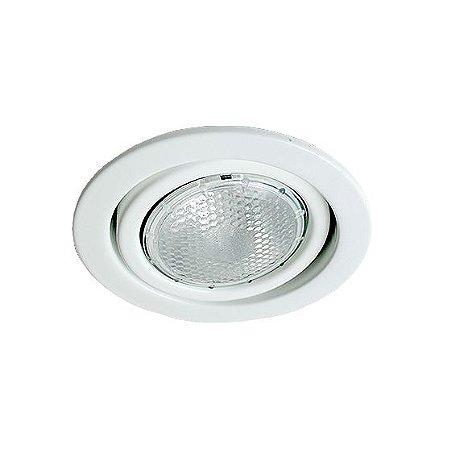 Spot Redondo Embutir Facho Direcionável PAR20 Sem Lampada