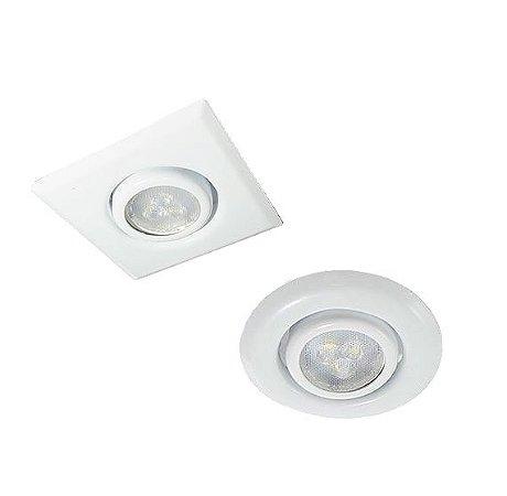 Spot para Lâmpada Dicórica GU10 para Embutir