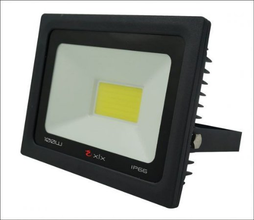 Refletor Cob LED 100W IP66 Branco Frio Bivolt