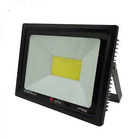 Refletor Cob LED 200w IP66 Branco Frio Bivolt