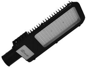 Luminária para Iluminação Pública Street Led IP66 - Bivolt 50w -100w -150w -200w