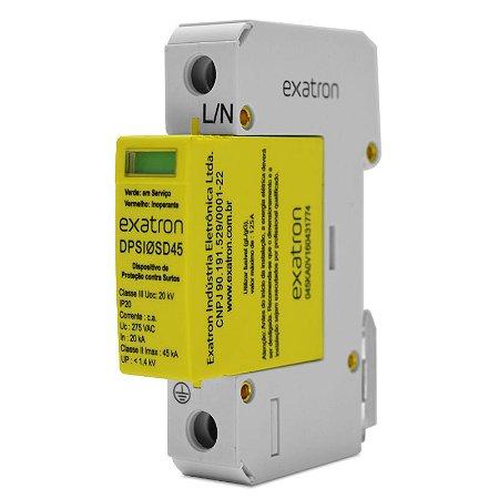 DPS Dispositivo de Proteção contra Surtos Elétricos Bivolt 45 kA