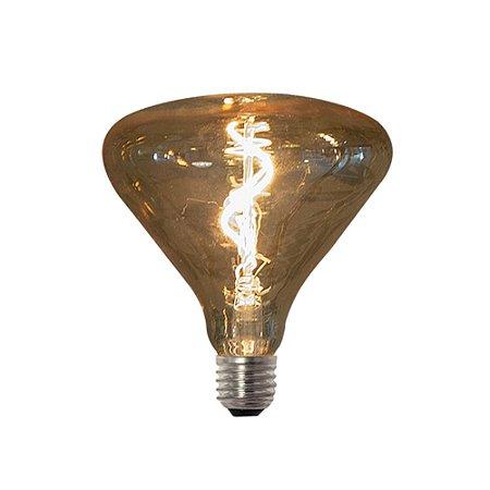 Lâmpada Vintage Retrô Filamento de Led Vetro Br140 4W  Bivolt