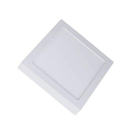 Painel de Sobrepor Quadrado Plafon LED - Bivolt