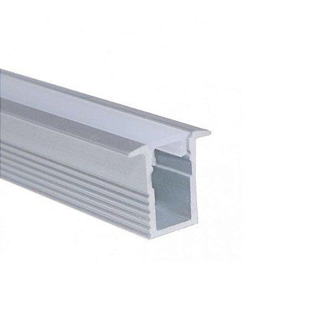 Perfil Embutir 2m Slim Fita LED - LUM11SL