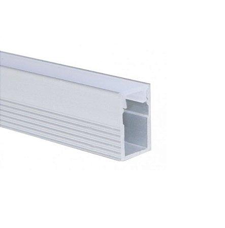 Perfil Sobrepor Slim 2m Fita LED - LUM12SL