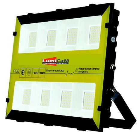 Refletor de Led RGB 200W IP66 Bivolt