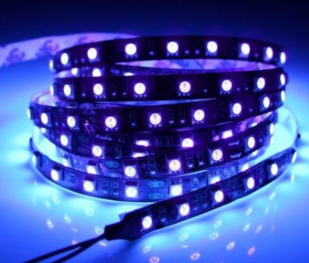 Fita LED Flexivel 300 Led 5050 ip20 Violeta UV - JK