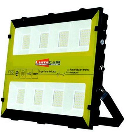 Refletor de Led RGBW 300W IP66 Bivolt - X