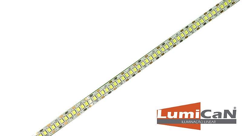 Fita Led Especifica Para Perfil 10w/m 12v IP20 5 metros - Led Continuo