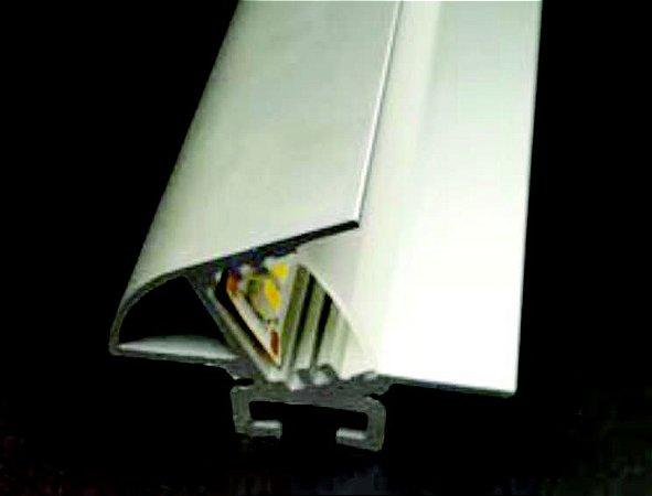 Perfil Gesso Cartonado 2m Fita LED Wall Wash - LUMLF 151