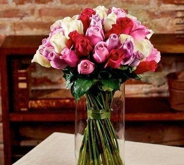 Buquê mix de rosas nacionais
