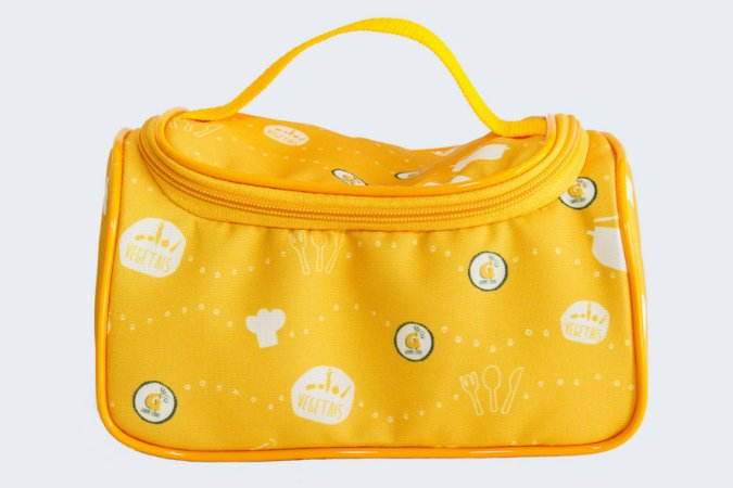 (APENAS RJ) Bolsa Térmica Amarela (Tamanho P)