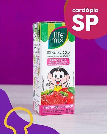 SP   Suco de Morango e Maçã - Life Mix