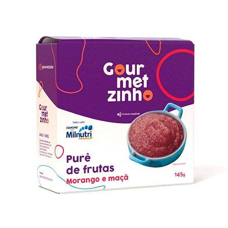 Pure de Frutas Morango + Milnutri Premium
