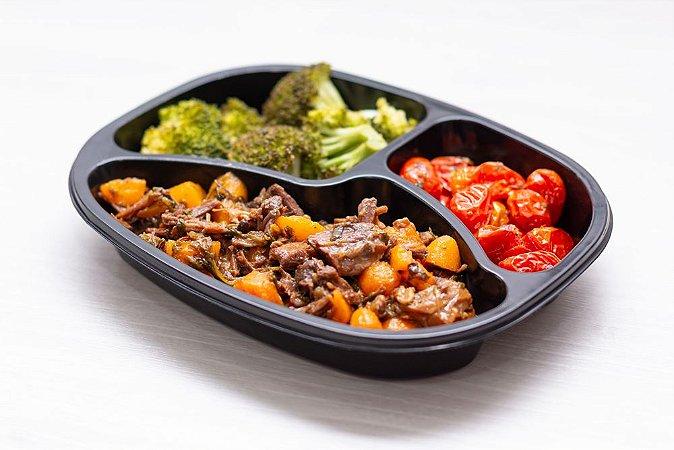 (APENAS SP) LowCarb - Ossobuco + Tomatinho + Brócolis
