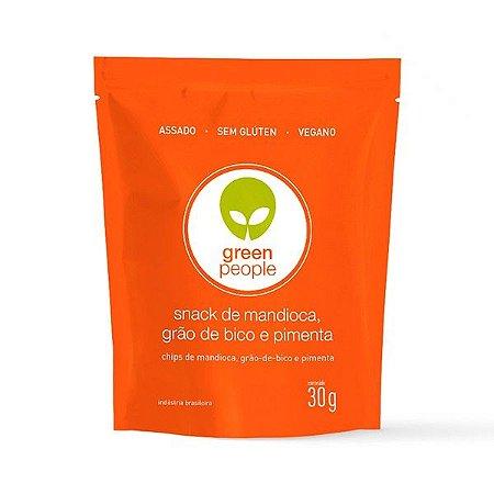 Snack de mandioca com grão de bico e pimenta GreenPeople ,| Lanches