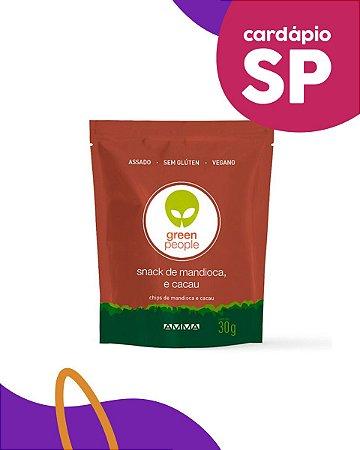 SP | Snack de mandioca e cacau - Green People